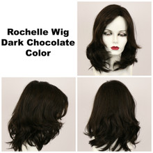 Dark Chocolate / Rochelle / Long Wig