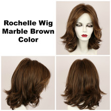 Marble Brown / Rochelle / Long Wig