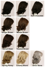 Color Chart / Rochelle / Long Wig