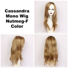 Nutmeg-F / Cassandra Monofilament w/ Roots / Long Wig
