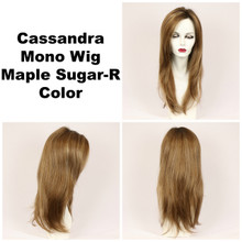 Maple Sugar-R / Cassandra Monofilament w/ Roots / Long Wig