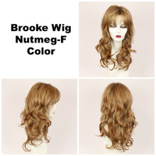 Nutmeg-F / Brooke w/ Roots / Long Wig
