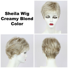 Creamy Blond / Shelia / Short Wig