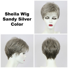 Sandy Silver / Shelia / Short Wig