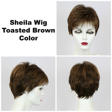 Toasted Brown / Shelia / Short Wig