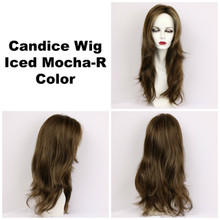 Iced Mocha-R / Candice w/ Roots / Long Wig