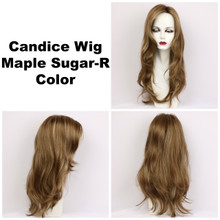 Maple Sugar-R / Candice w/ Roots / Long Wig