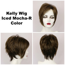 Iced Mocha-R / Kelly w/ Roots / Short Wig