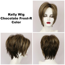 Chocolate Frost-R / Kelly w/ Roots / Short Wig