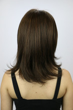 Ginger Brown / Nicole Monofilament / Medium Wig