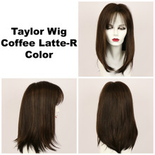 Coffee Latte-R / Taylor w/ Roots / Long Wig