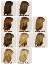 Color Chart / Taylor w/ Roots / Long Wig