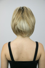 Back of Sasha Mono Lace Front Wig in Creamy Toffee-R.