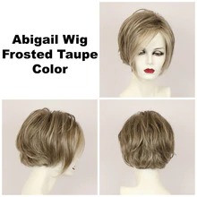 Frosted Taupe / Abigail Lace Front / Medium Wig