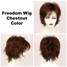 Chestnut / Large Freedom / Medium Wig