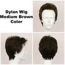 Medium Brown / Dylan / Men's Wig