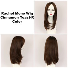 Cinnamon Toast-R / Rachel Monofilament w/ Roots / Long Wig