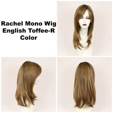 English Toffee-R / Rachel Monofilament w/ Roots / Long Wig