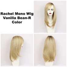 Vanilla Bean-R / Rachel Monofilament w/ Roots / Long Wig