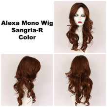 Sangria-R / Alexa Monofilament w/ Roots / Long Wig
