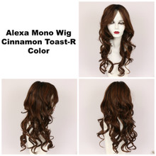 Cinnamon Toast-R / Alexa Monofilament w/ Roots / Long Wig