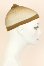 Brown / Nylon / Wig Cap