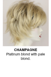 Champagne Wig Color