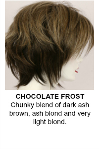 Chocolate Frost Wig Color
