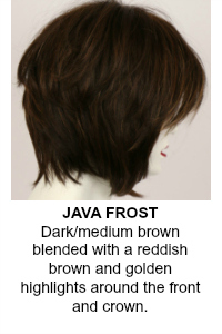 Java Frost Wig Color