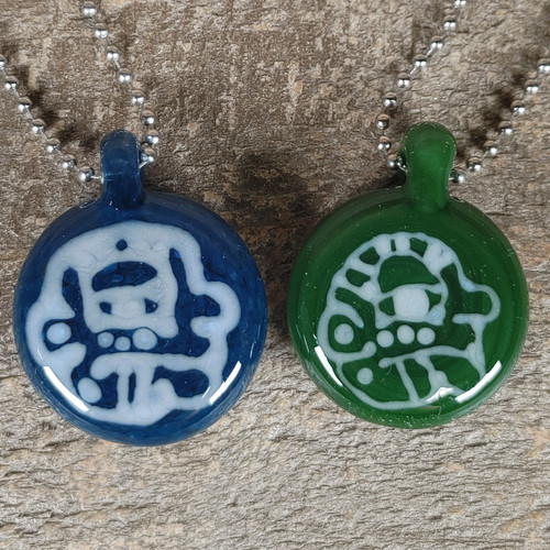 Face Pendant by Big Focused God
