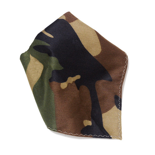 Army Green Hankerchief Pocket Square Hanky