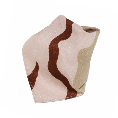 Army Beige Hankerchief Pocket Square Hanky