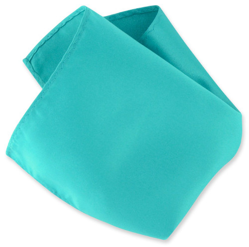 TEAL BLUE Scarf Handkerchief Pocket Square Hanky