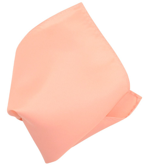 PEACH Scarf Handkerchief Pocket Square Hanky