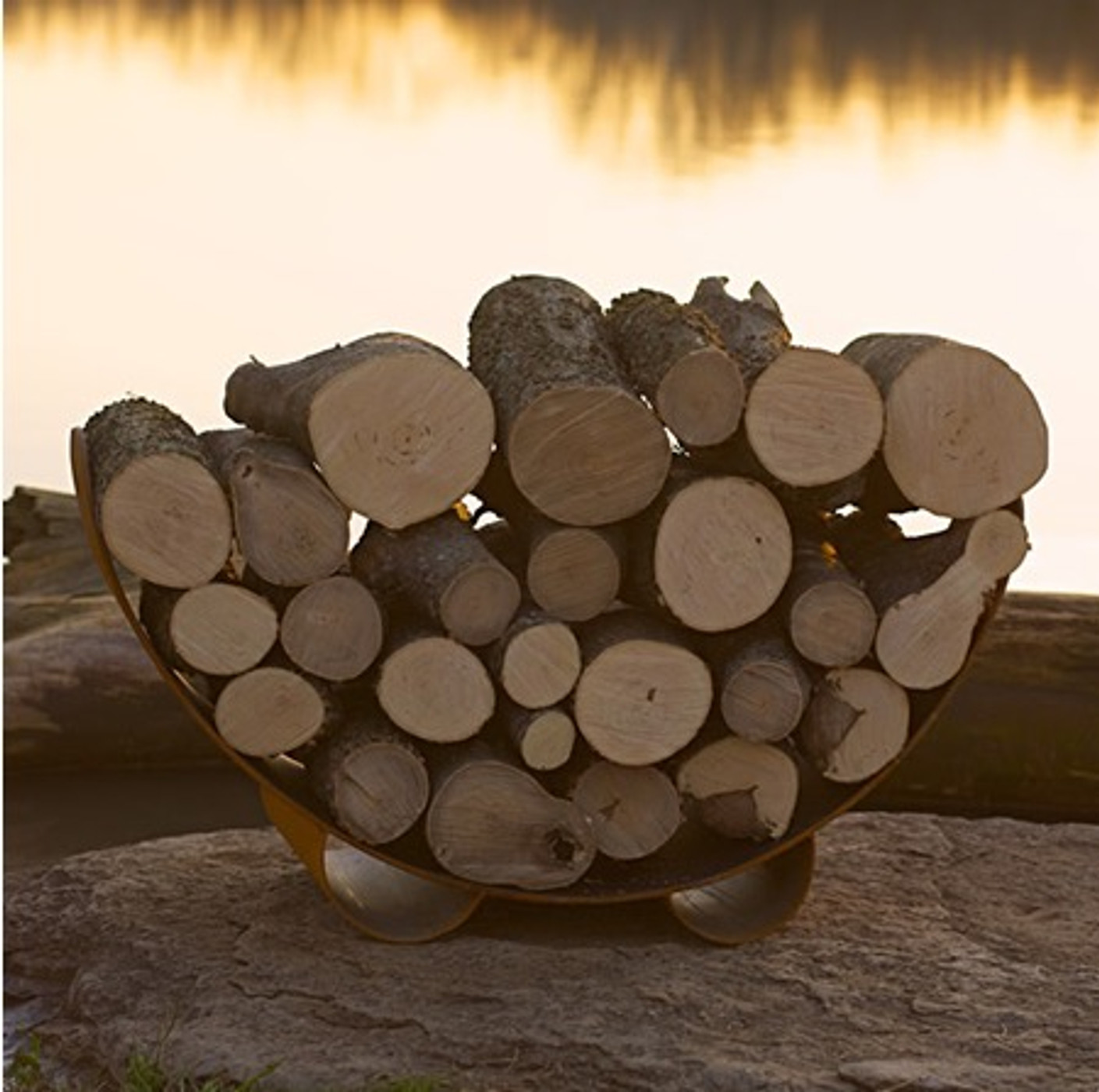 Log Rack - Crescent Log Rack
