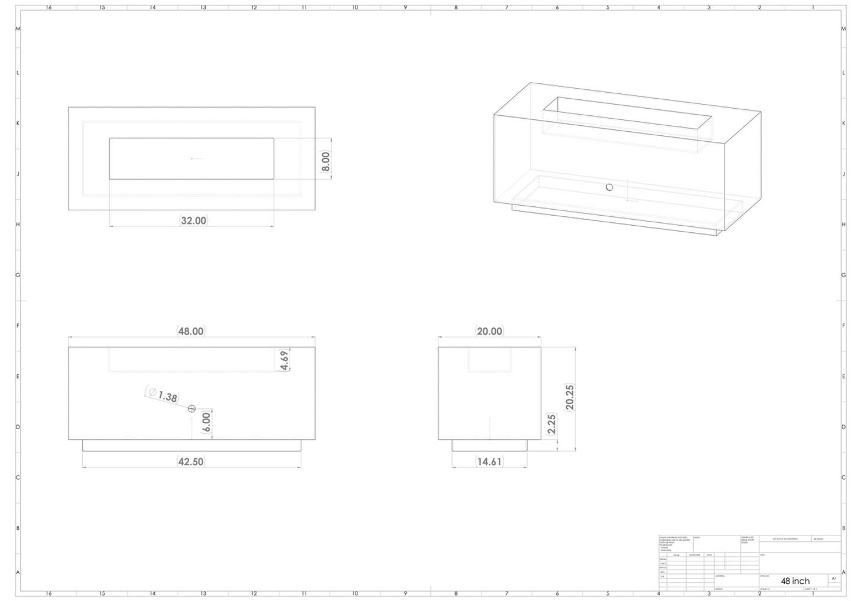 "Linear 48"" - 150K BTU"