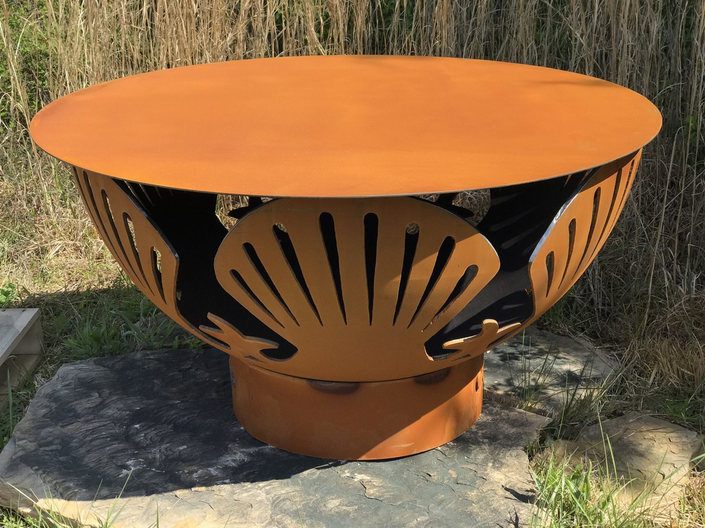 """Steel Table Top - 43"""" (does not include fire pit)"""