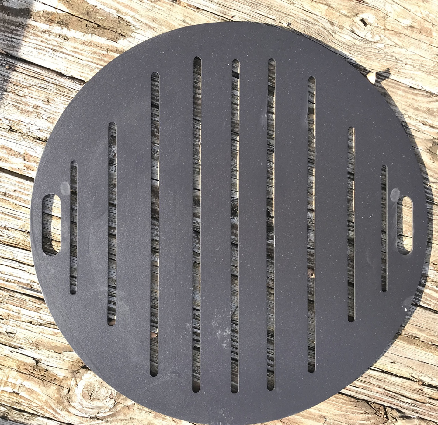 Grate - for wood burning fire pit (not to be used for cooking)