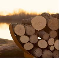 Log Rack - Crescent Log Rack