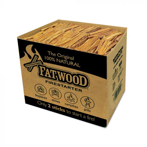 Fatwood - Nature's best fire starter!