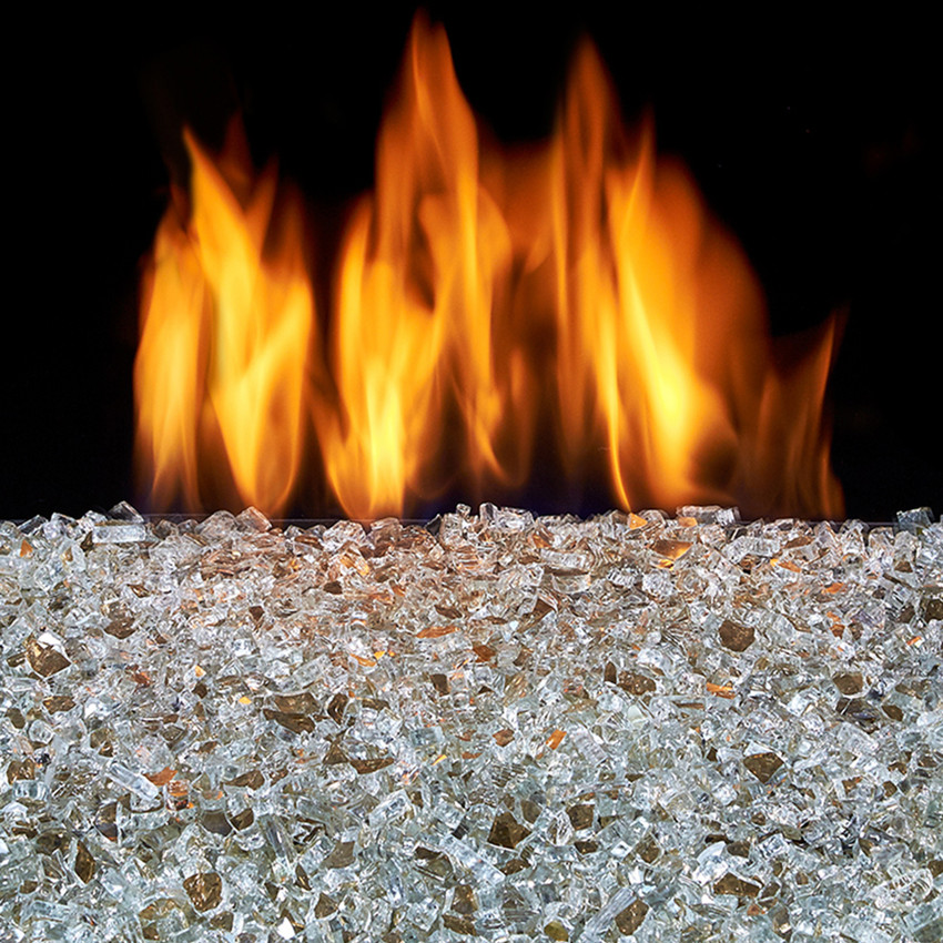Advantages of Using Fire Glass in your Gas Fire Pit