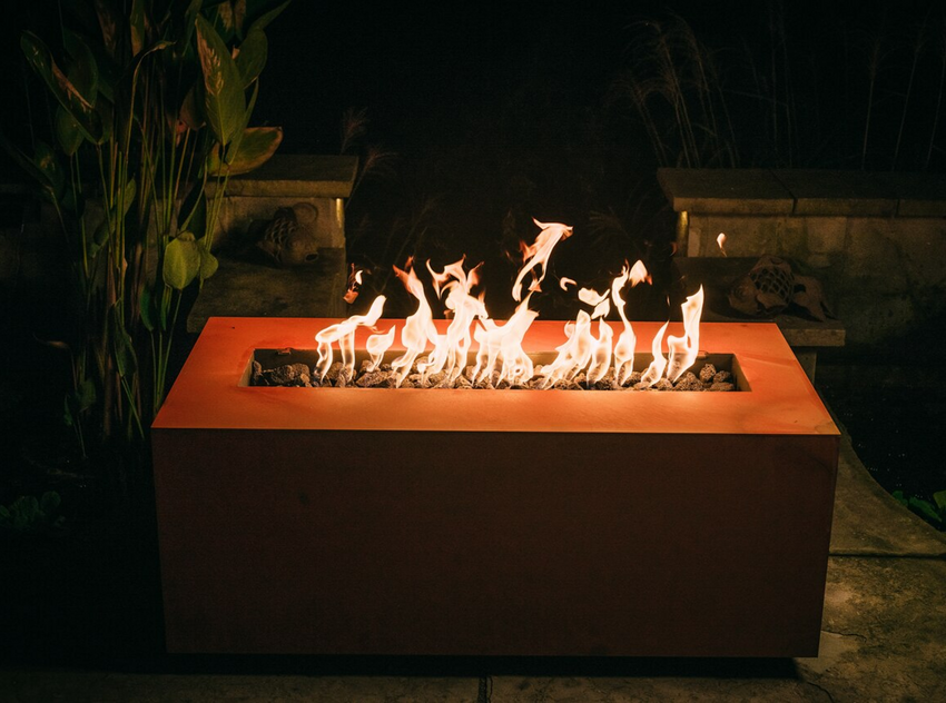 Linear Fire Pits: The Modern Design