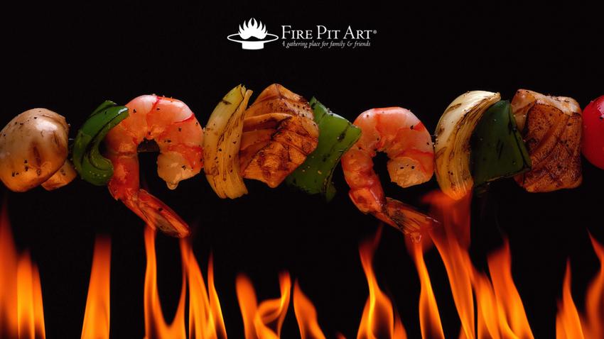 Fire Pit Summer Kabobs