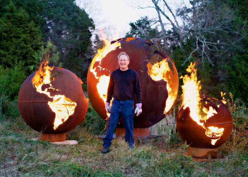 Fire Pit Art® Functional Steel Sculptures