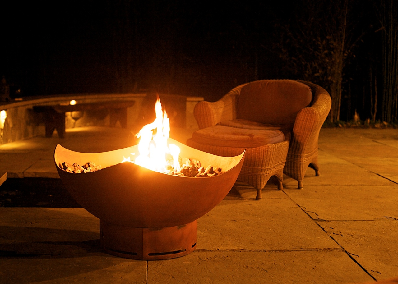 Home / Fire Pit Art / Manta Ray - Manta Ray Fire Pit Wood Burning Natural Gas Or Liquid Propane Fueled