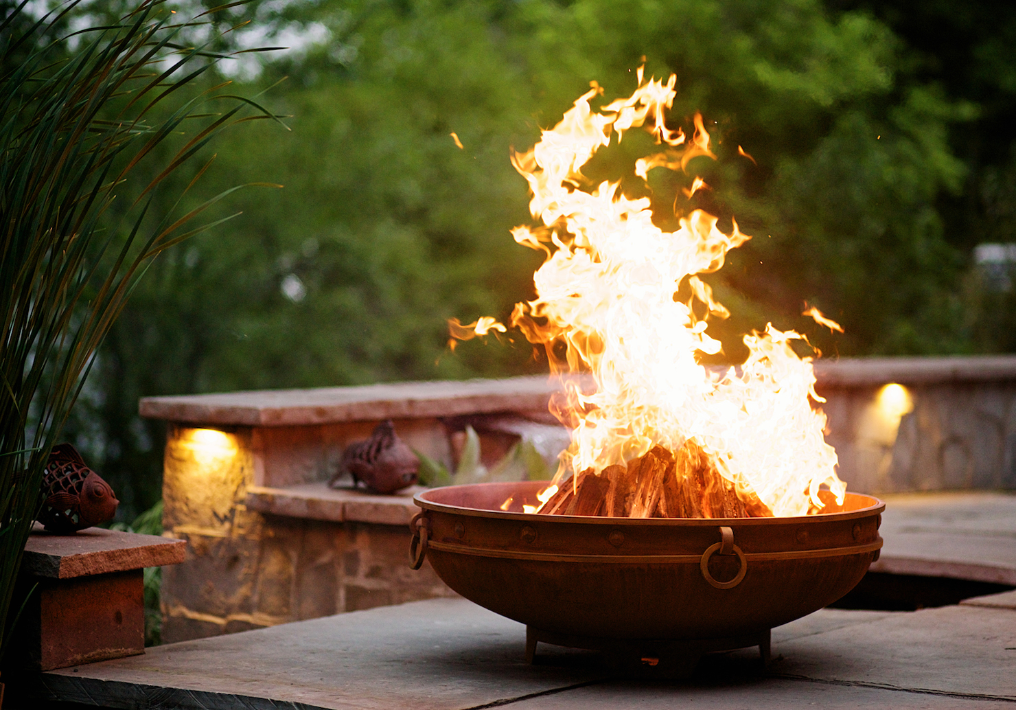 The Ageless Beauty Of A Natural Patina Steel Fire Pit Fire Pit Art