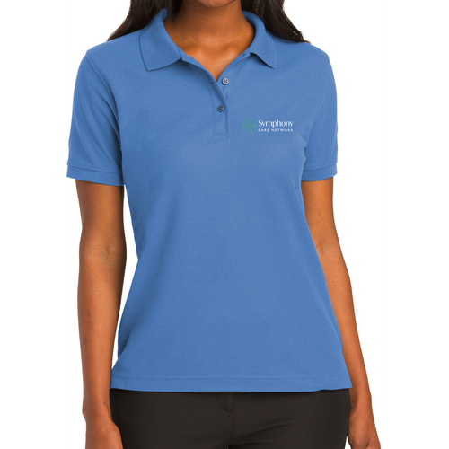 Symphony Port Authority Ladies Silk Touch Polo