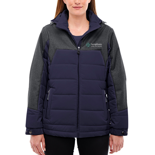 Symphony North End Ladies Excursion Meridian Insulated Jacket