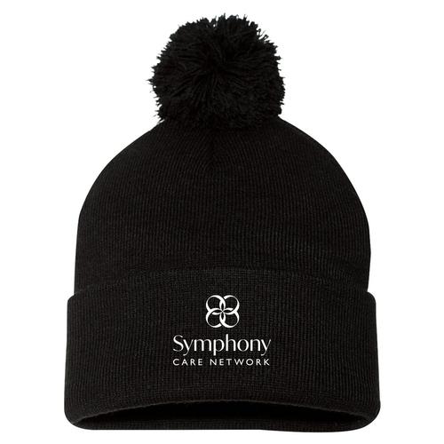 Symphony Sportsman Pom Pom Knit Beanie