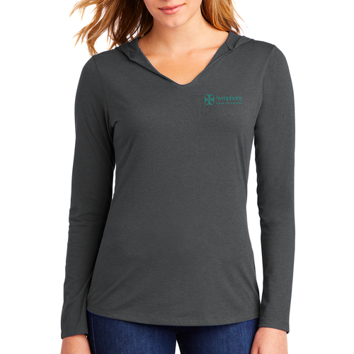 Symphony District ® Women's Perfect Tri ® Long Sleeve Hoodie
